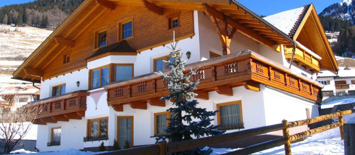 Unser Haus Romantica in Nauders im Winter